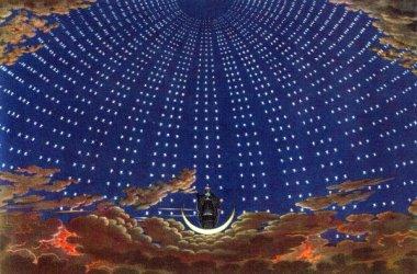 """Halle der Königin der Nacht aus """"Die Zauberflöte"""" von Wolfgang Amadeus Mozart."""